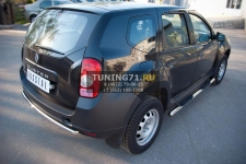 Renault Duster Защита заднего бампера d42 (дуга) RD2Z-000444